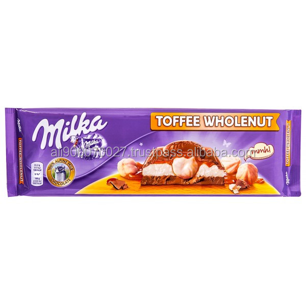 MILKA Toffee Whole Nut 300g