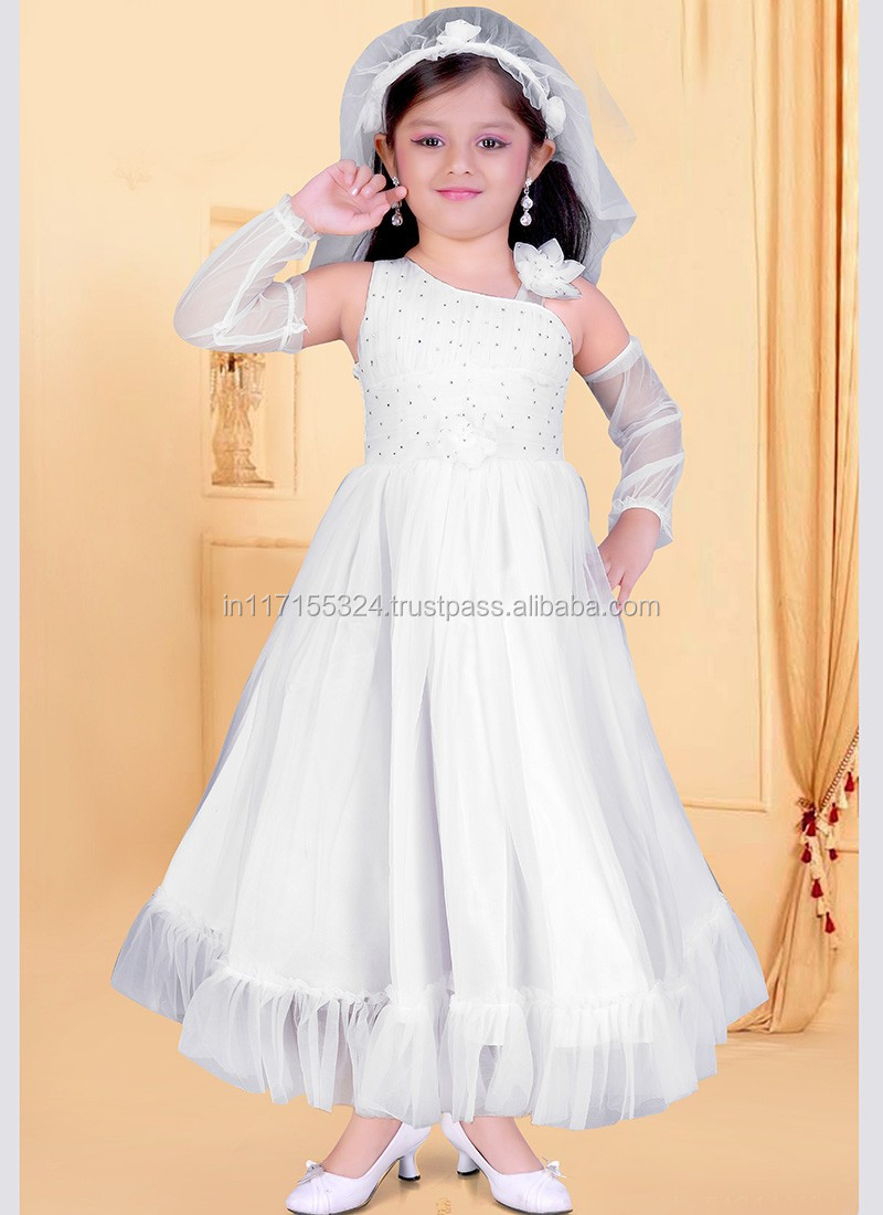 Kids Wear Dresses For Wedding Pakistani Anarkali Frocks - Kids ...