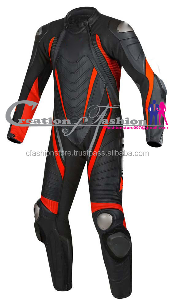 fashion leather motorbike Laguna Seca Evo 1PC men sui
