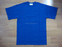 Design your own t shirt plain 100% comb cotton shirts