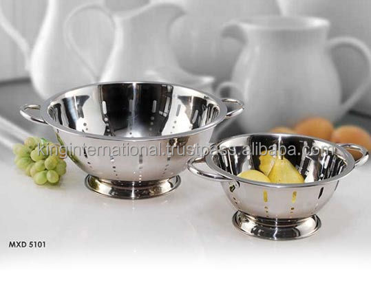 Strainer For Kitchen Stainless steel colander/strainer for kitchen