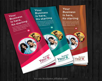 Custom Full Color Double Sided Offset Flyers Printing