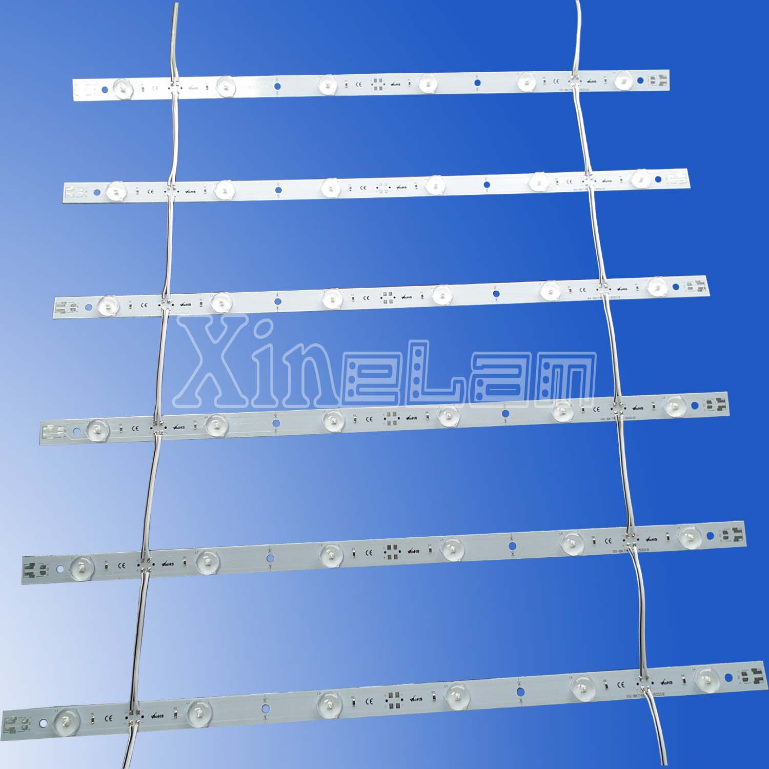 Light Strip Linking Mesh Led Curtain Lights Backlight Light Box ...