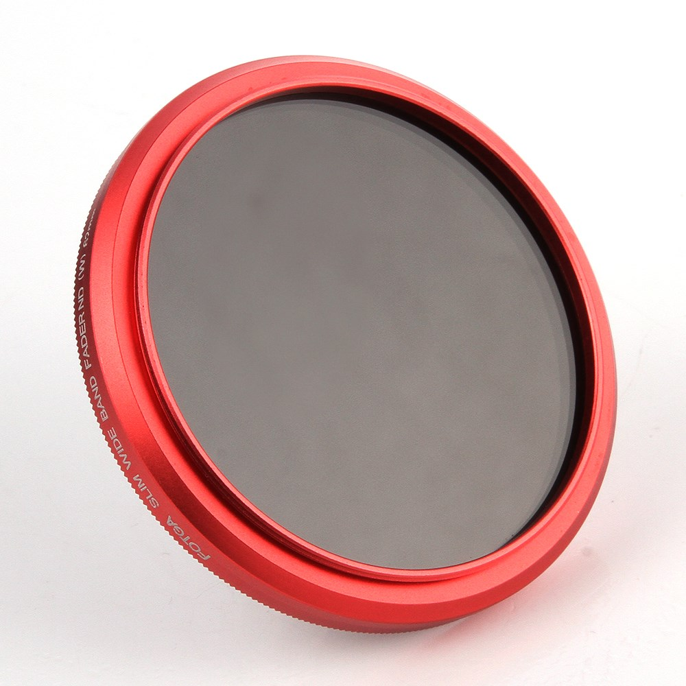 Fotga 43mm Slim fader ND lens filter adjustable variable neutral density ND2 to ND400