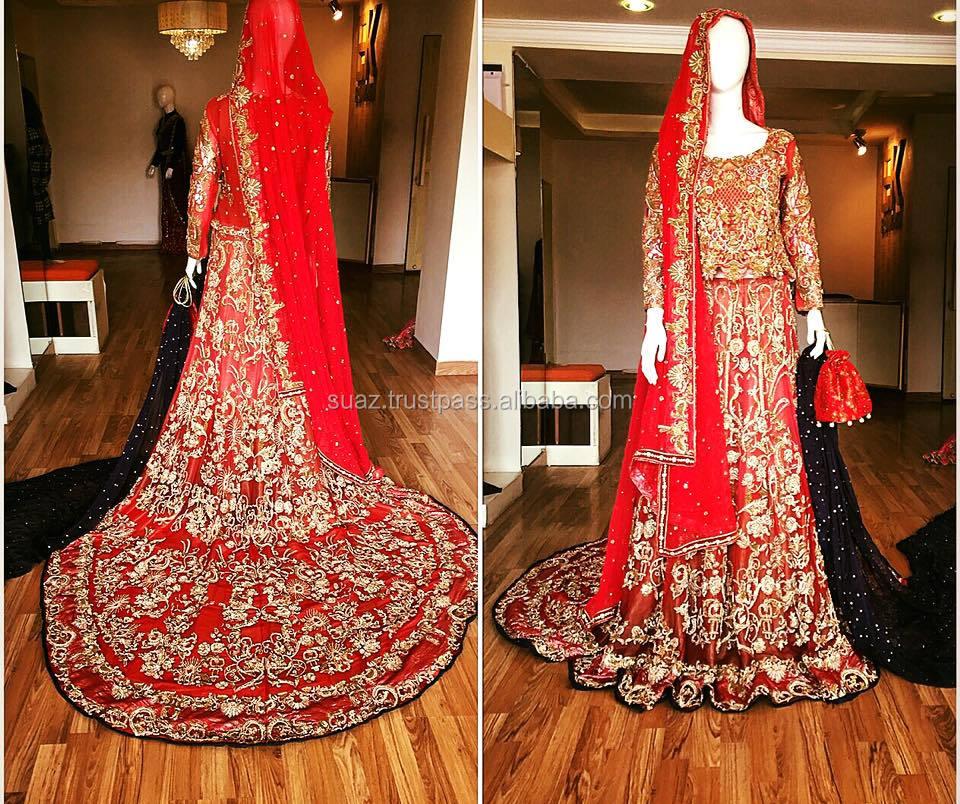 Pakistani Dulhan Suits,Baraat Suits,Walima Suits,Mehndi Suits,Bridal  Dress,Luxury Bridal Wear,Girls Wedding Dresses , Buy Indian Wedding Dresses