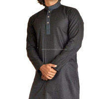 Salwar Kameez / kurta shalwae -Royal Blue Kurta Shalwar Designs for Men with embroidery - MENS