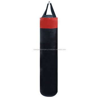 Filled Unfilled Professional Hanging Punch Bags Custom Made Boxing Punching In Stan Man Kick