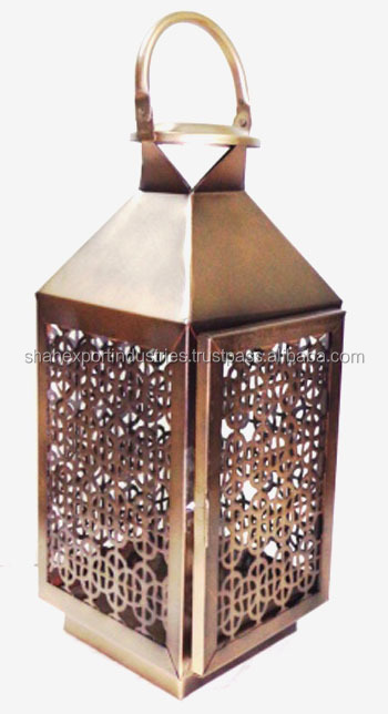 Metal Decorative Hanging iron & Steel Lantern
