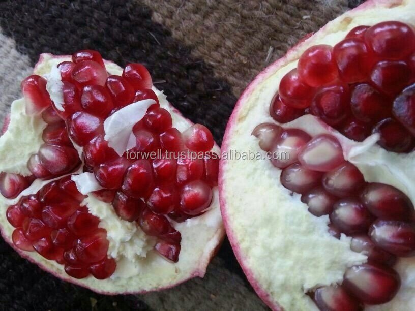 Pomegranates( Frozen and Fresh ) , Crimson Grapes , Lemons ( Adalia and Verna ) .