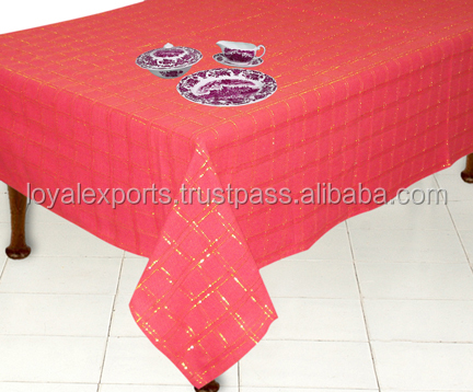Indian Table Linen, Indian Table Linen Suppliers And Manufacturers At  Alibaba.com