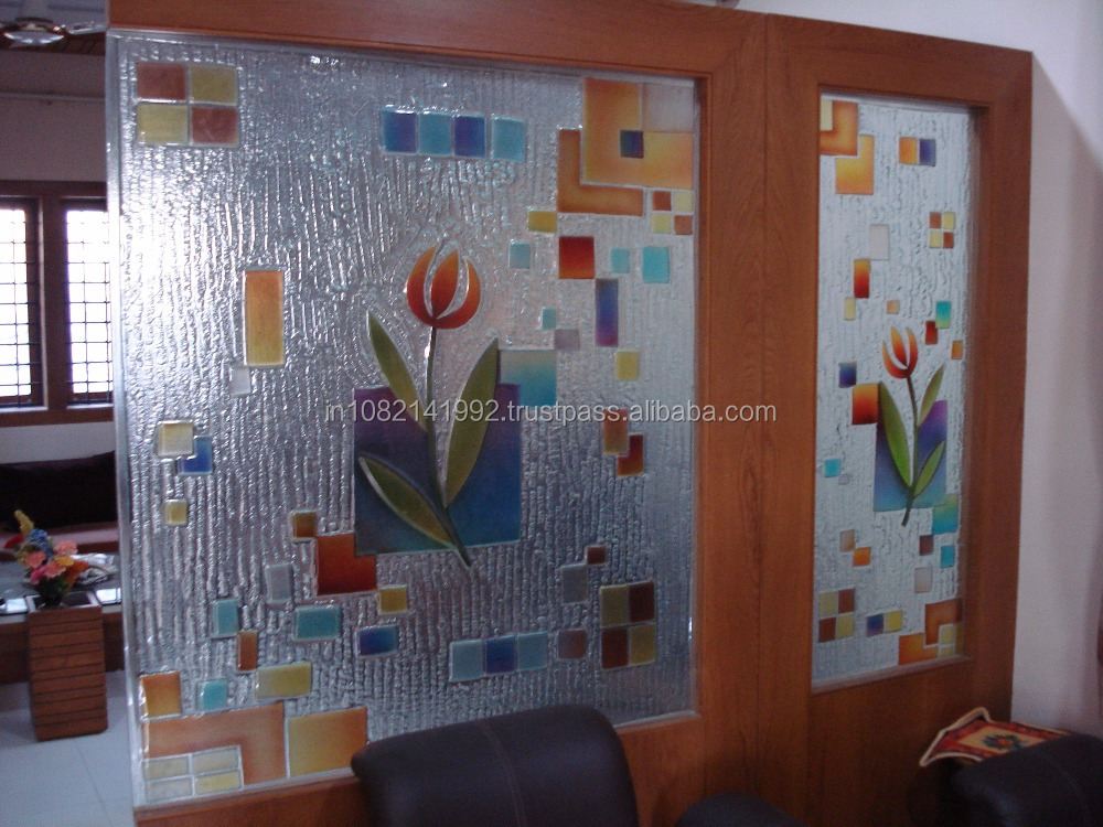 Fused Glass And Fused Pattern Glass Doors Buy Fusing Art Glass
