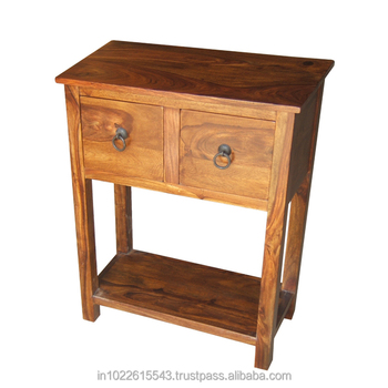 Lovely Sourav 2 Drawer Console Table