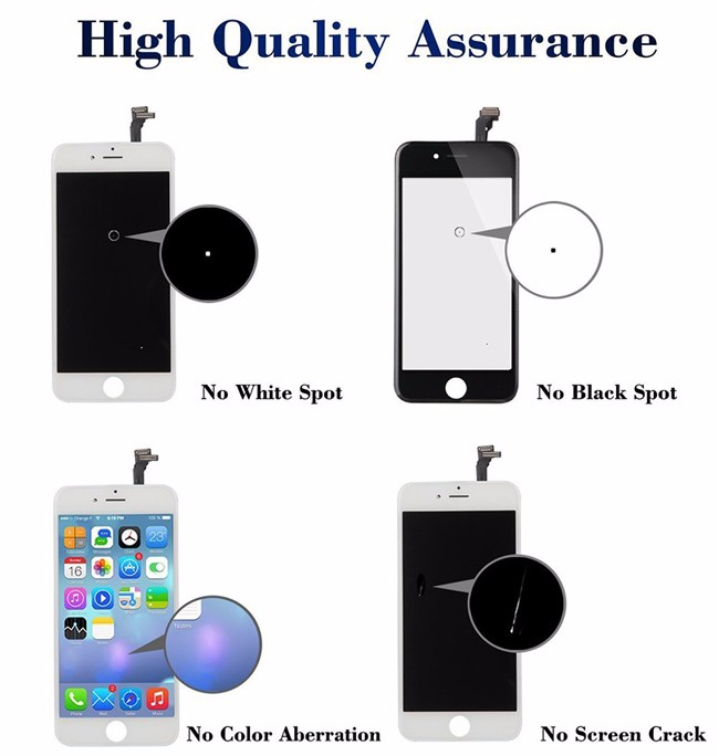 For Apple Iphone Replacement Parts For Iphone 6 Plus Lcd Screen ...