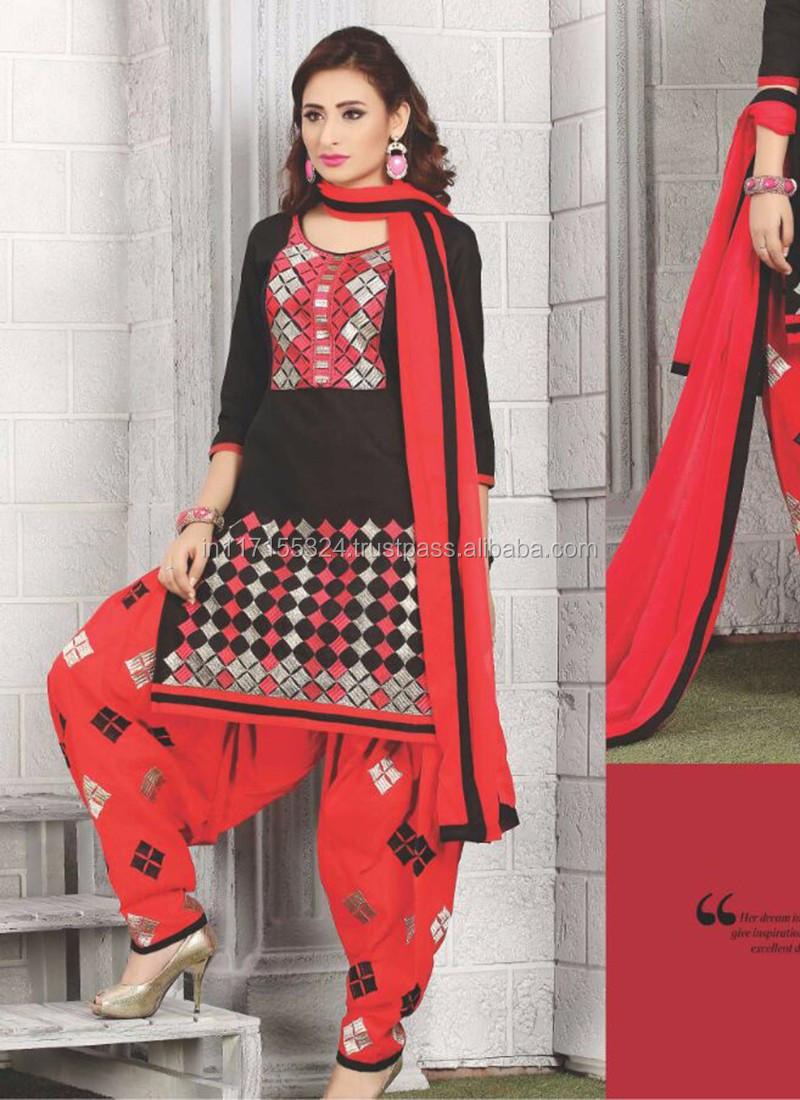 Salwar Kameez Diseño Para Costura-punjabi Diseñador Boutique De ...