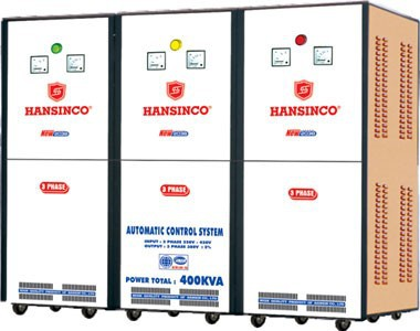 Hansinco Voltage Stabilizer 150KVA Three Phase (Input: 320V-420V, Output: 380V)