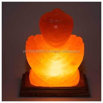 Himalayan Buddha Shaped Salt Lamp 5x5x8