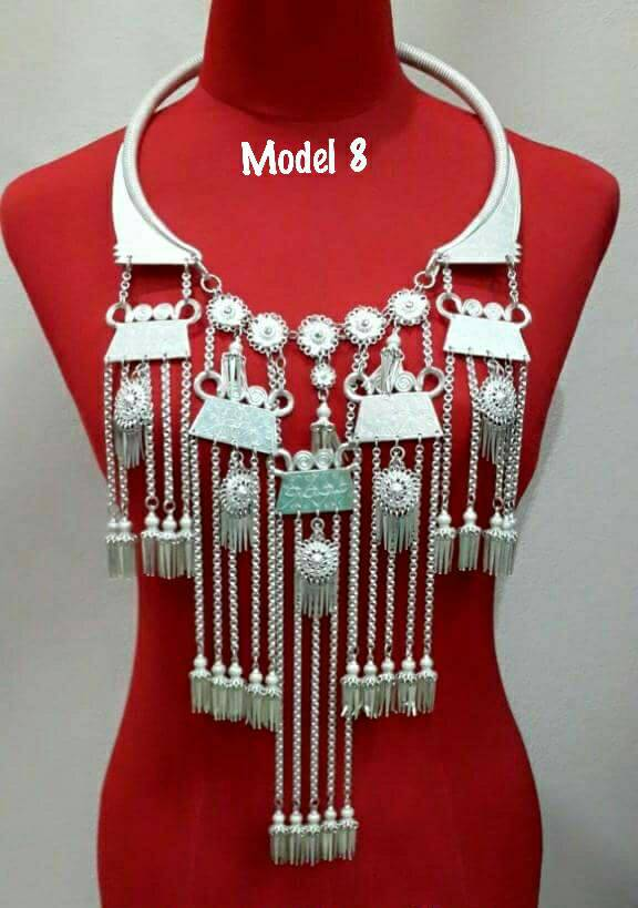 Handmade Unique Designed Hmong Necklace - Buy Latest Necklace Designs  Product on Alibaba com