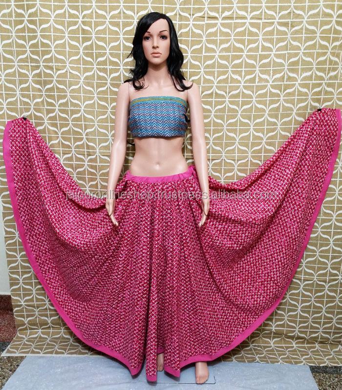 4dcae487d9 Buy Full Designer Anarkali Style Indian Long Skirts Online - Buy ...