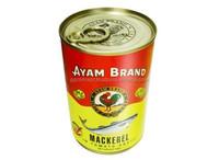 Ayam Mackerel In Tomato Sauce 425g/ Canned Fish