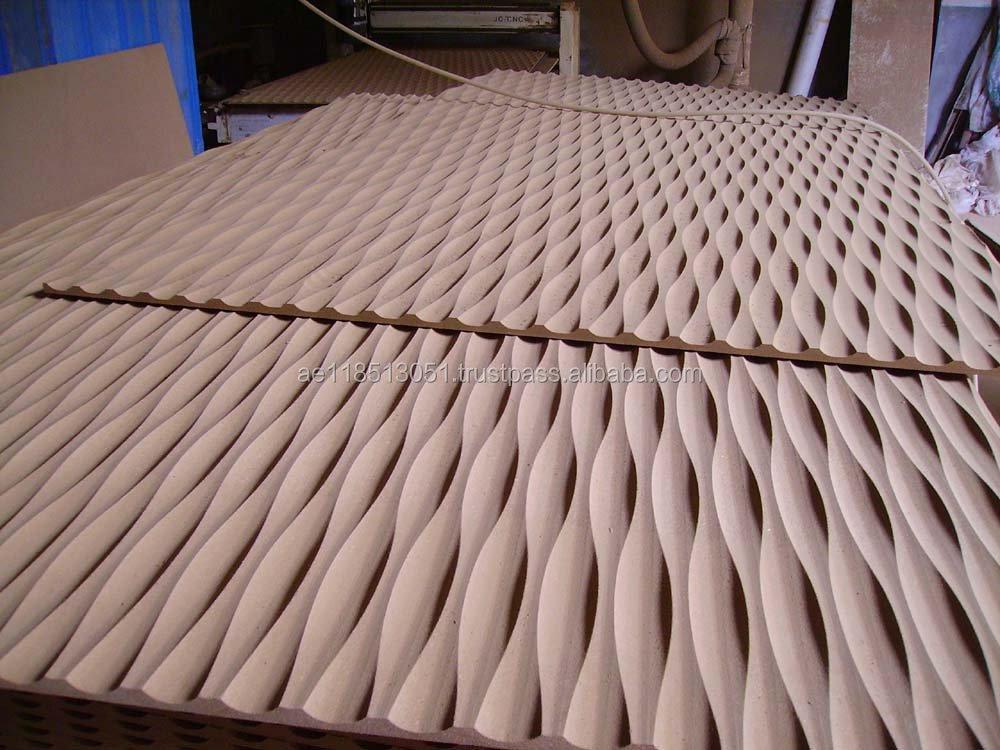 3d Wave Panel Wall Cladding Texture By Najib Interior Ni - 029 ...