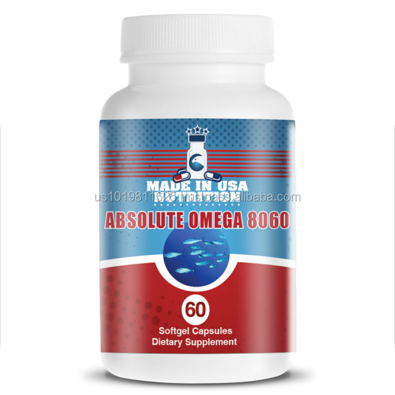 Finest Quality health Food Supplements (Bottle) Fish Oil Omega 3 1000mg