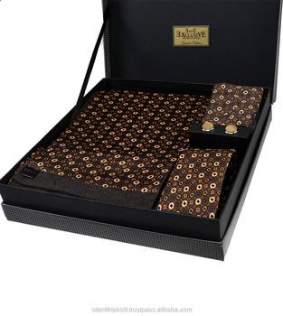 Scarf Necktie Hanky Cufflinks Set,Men Classic Set,Men Stylish,Gift Set,Tie  Set - Buy Tie And Hanky Sets,Tie Gift Set For Men,Cufflink And Tie Pin Set