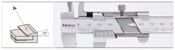 High-precision and Reliable Mitutoyo metric caliper made in Japan