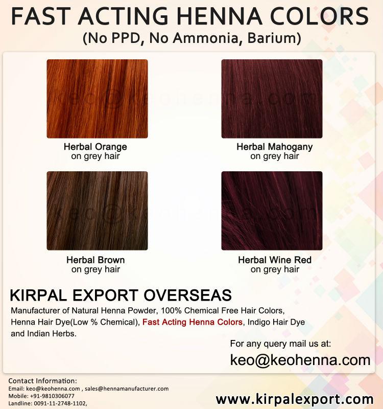 Natural Henna Herbal Purple Hair Dye