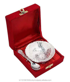 Wedding Return Gift Silver Plated Br Material