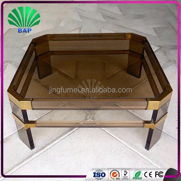 High Quality Modern Clear Acrylic Trunk Coffee Table