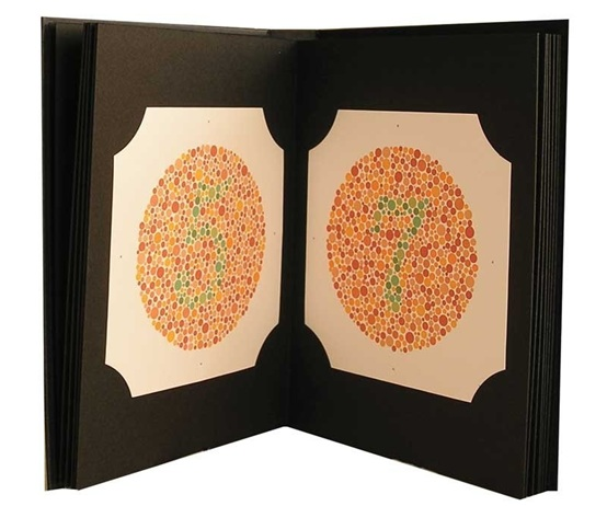 High Quality Ishihara Test Book 38 Plates