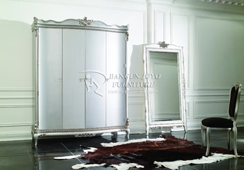 Wholesale cheap silver european style antique wooden for Cheap antique style mirrors