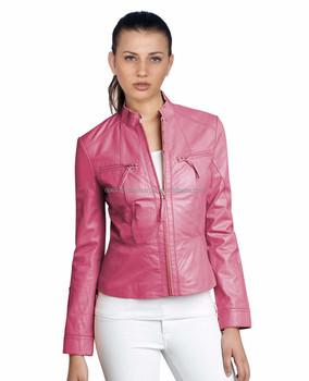 Biker Style For Women Leather Jacket Ladies Biker Style Leather