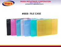 A4 PLASTIC FILE FOLDER PLASTIC DOCUMENT CASE HARD PLASTIC FILE CASE