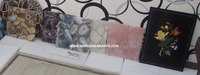 Handcrafted Gemstone Wall Tiles, Solid Agate Tile
