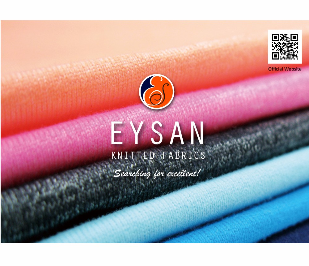 EYSAN dyed stretchable mesh jacquard spandex polyester fabric mesh