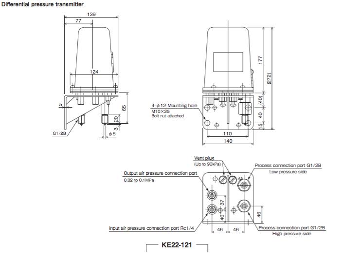 Image result for Pneumatic Pressure Transmitters