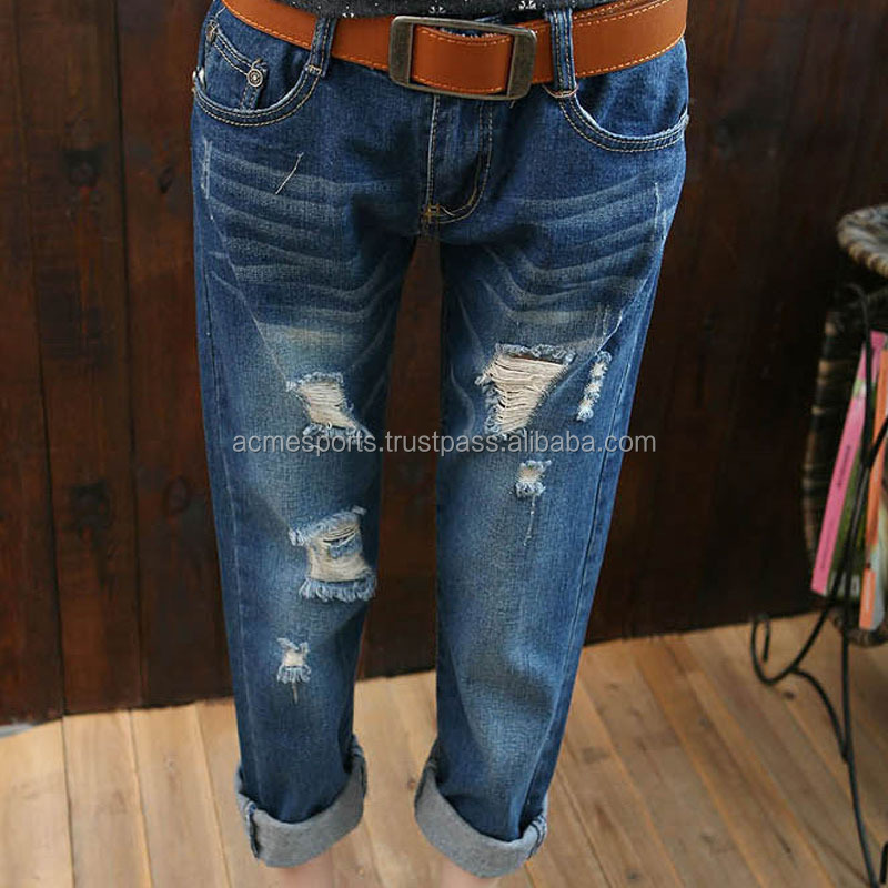 Denim Jeans Pants - Men Jean Pant New Design Denim Jean Pant Men's ...