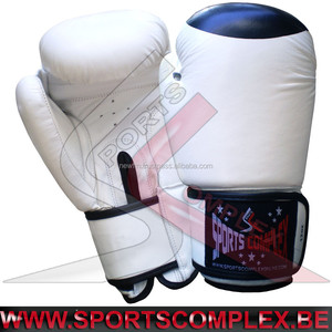 Boxing Gloves Cowhide Leather Muay Thai Kickboxing Fitness MMA Sparring Practice Punching Bag Gloves Stock in Belgium Europe