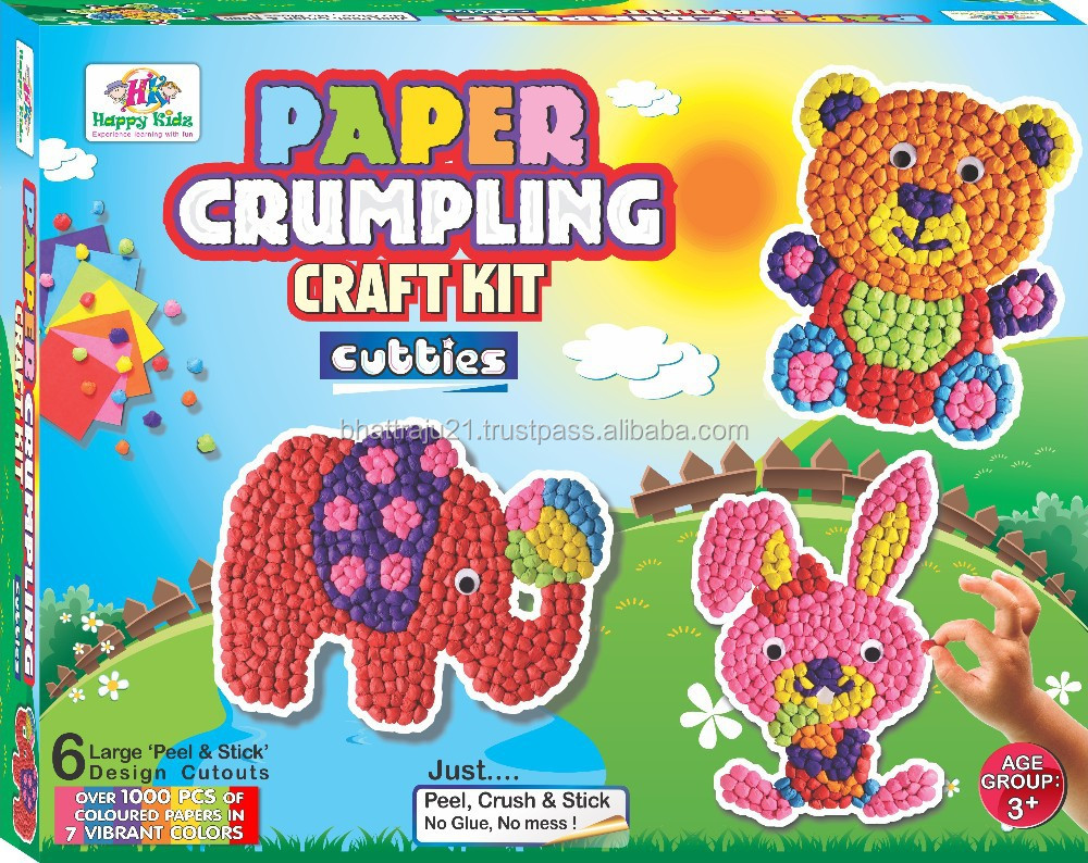 Craft kit for kids - Art Craft Game For Kids Buy Art Craft Game For Kids Wall Games For Kids Sticker Games For Kids Product On Alibaba Com