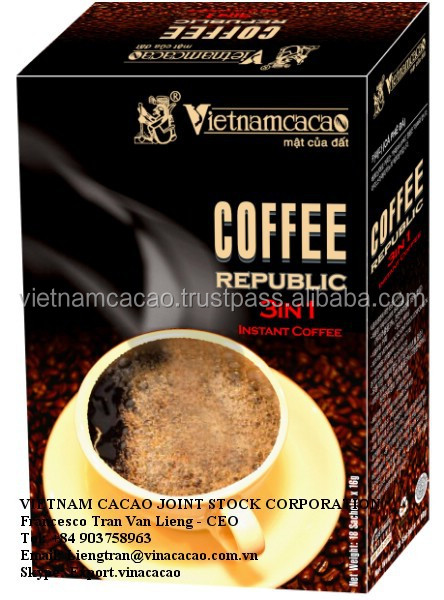 Arabica Coffee Beans - 3 In 1 Republik