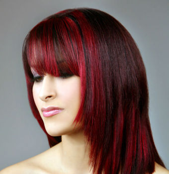 Dark Auburn Hair Color Dye 498945 Garnier Nutrisse 2 6 Ultra Cherry Red Permanent