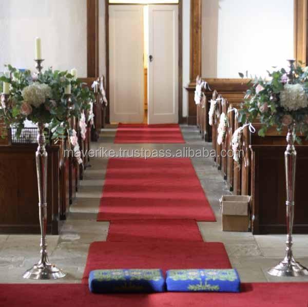 Boda candelabros piso con bola de cristal 7 luz para decoración de ...