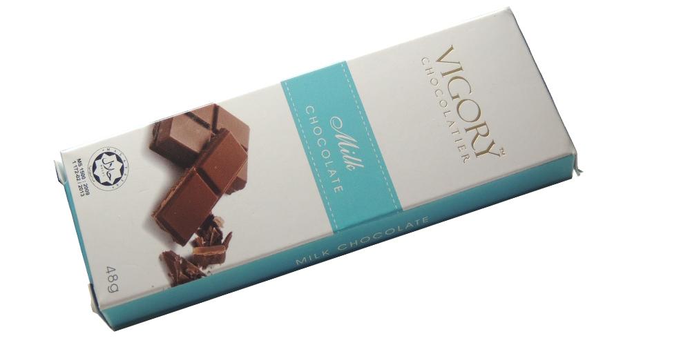 Vigory Milk Chocolate Bar