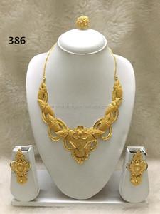 prix favorable meilleur prix pour grande remise 2 gram gold plated jewelry set