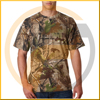 true adventure TA1-002C hunting camo pullover long sleeve Tee men's military tactical uniforms woodland
