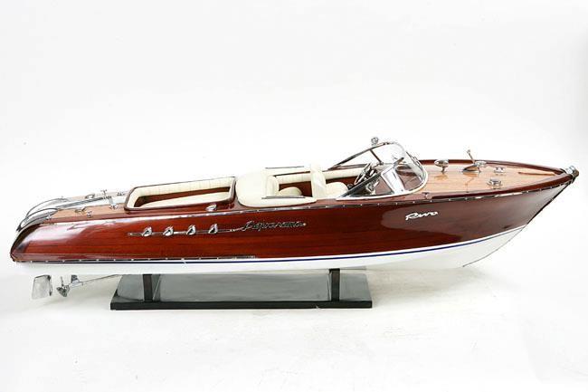 Holz yacht cruiser pleasur boot spielzeug