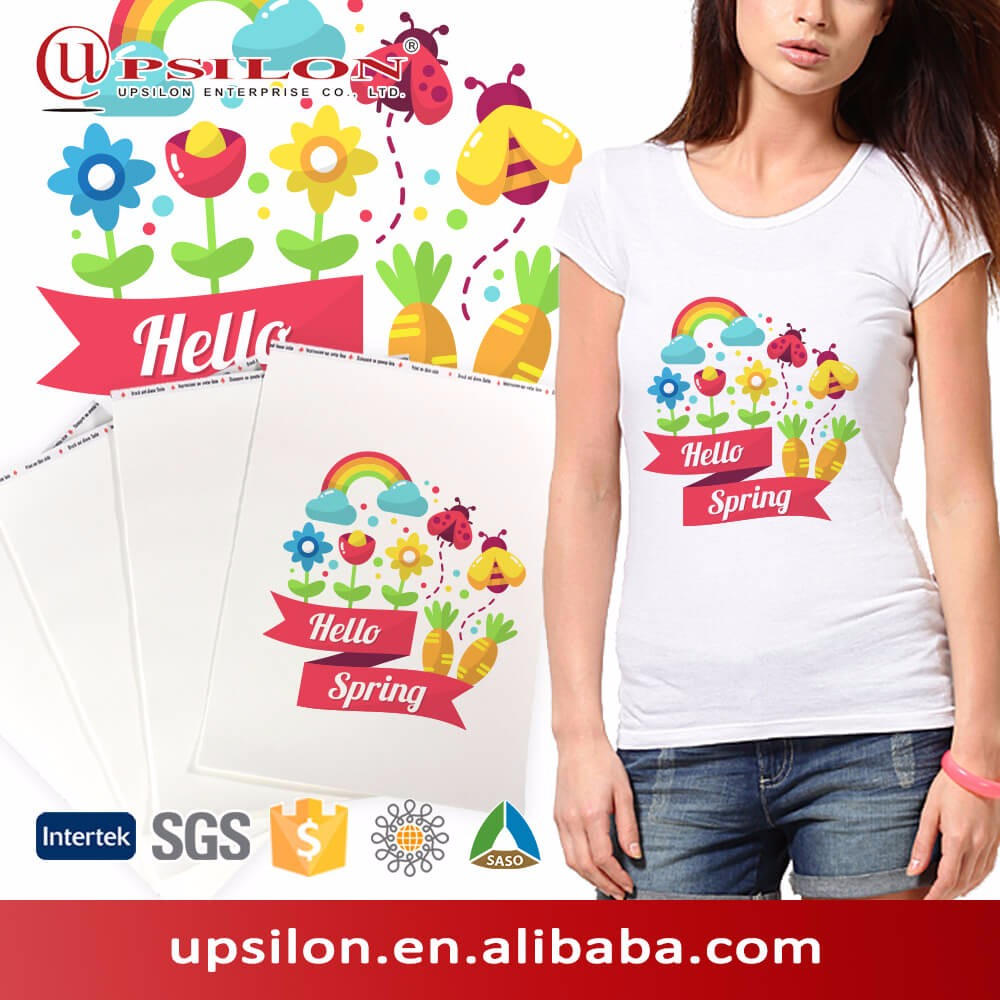 Powder Coating Light T shirt Laser Heat Transfer Paper