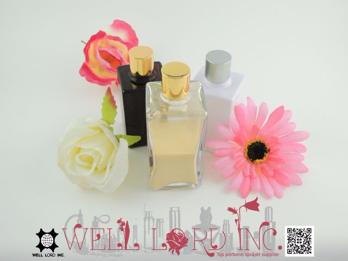 45ml Pure white outer cover empty cosmetic glass bottle