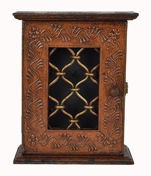 Exceptionnel Jaipuri Handicraft Copper Color Key Holder Cabinet